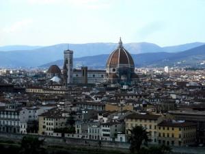 Santa Maria del Fiore-Firenze- Vista dal Piazzale Michelangelo