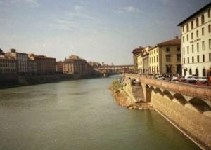 II Ponte Vecchio sull'Arno.