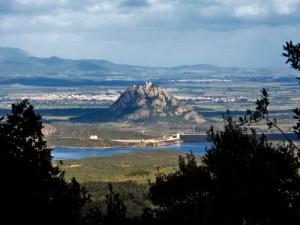 Ancora Siliqua, Il il monte del Castello di Acquafredda
