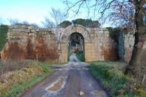 Falerii: Porta di Giove.