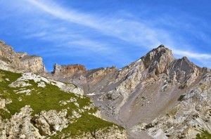 """"""" Le montagne a corona del lago di Livigno """""""