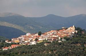 Lucinasco, alta valle del torrente Impero