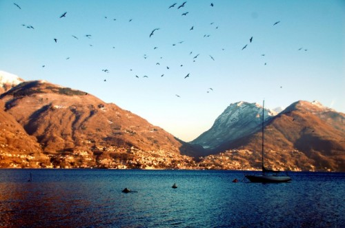 San Siro - vista dal lago
