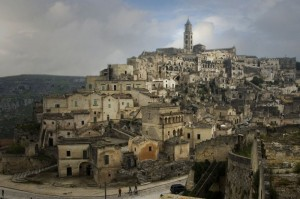 Matera la città vecchia