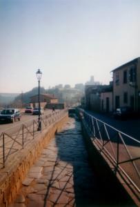 Tuscania, la via romana…