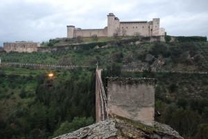 La Rocca vista dai Condotti