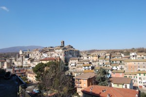 Vallerano, centro storico.