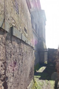 Castello Ruspoli, l' entrata - ponte levatoio -
