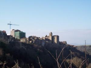Lavori in corso al castello