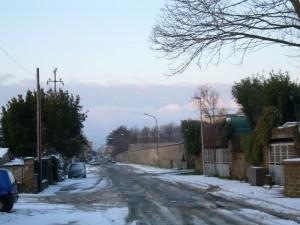 tracce della nevicata del 12-02-10