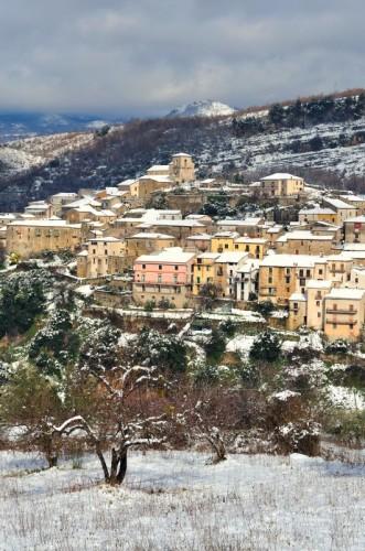 Corleto Monforte - a volte ....... nevica anche qui !!