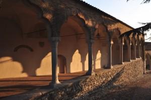 Porticato d'accesso al Castello di Udine