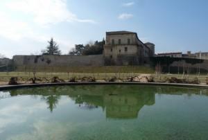 La Rocca Sanvitale si specchia