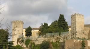 Veduta da Ovest del castello