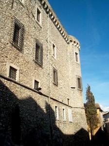 Facciata ovest del Castello Orsini-Cesi