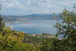Il lago Omodeo o di santa Chiara