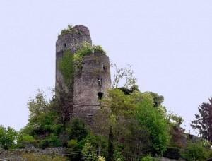 Tresana - ruderi del castello