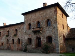 Il castello Borromeo di Corneliano