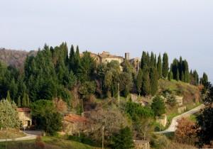 Panorama sul Castello di Starda ..un castello che non c'e'…