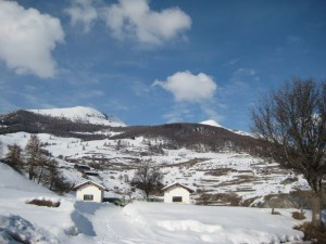 Saint Barthelemy sotto la neve