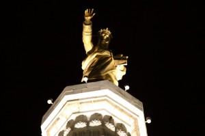 vos et ipsam civitatem benedicimus - forte San Salvatore