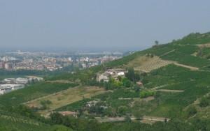 Broni, dalle colline