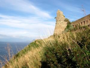 Torre Cavallo, guardiana della costa viola.