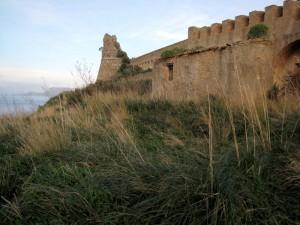 Le antiche vestigia i Torre Cavallo.