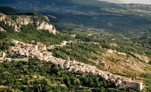 Il paese di Caramanico.