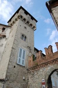 La torre del castello di Lerma