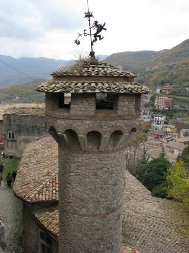 "Arsoli - La torre ""coperta"""