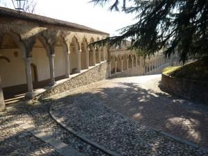 Particolare del castello di Udine