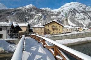 Gressoney Saint Jean e le Alpi