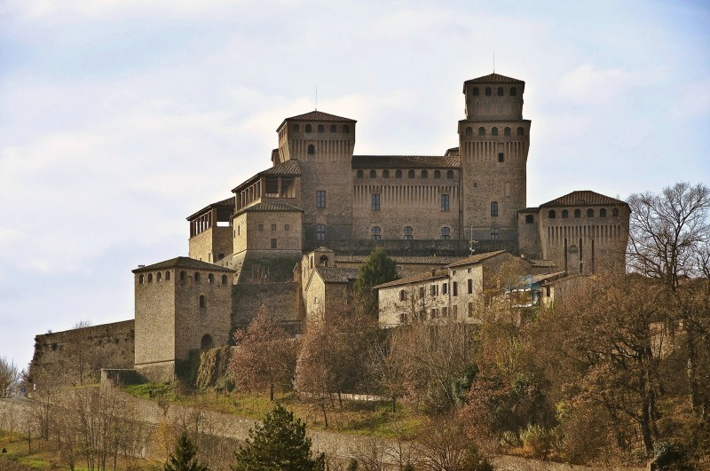 """''"""" Medioevo = Castello di Torrechiara """"'' - Langhirano"""