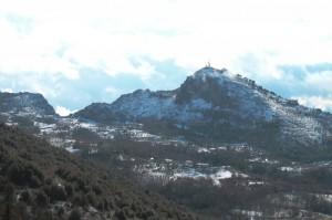 neve a Rocca d'Arce