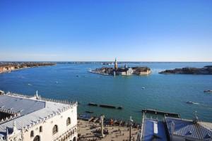 Tra San Marco e San giorgio, osservando la laguna
