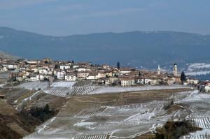 Panorama di Revò. Valle di Non