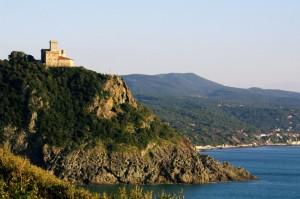 Panorama della costa Livornese