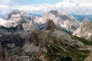 Rifugio Locatelli, Sasso di Sesto e Torre di Toblin