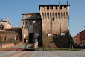 La rocca a Lugo di Romagna