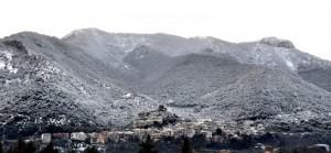 Nevicata a Morolo