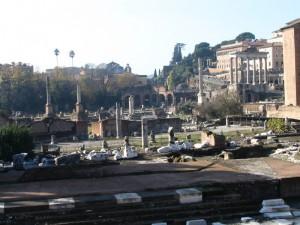 Roma, il Foro, nov2004