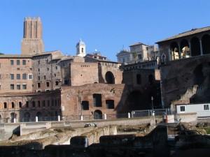 Roma, i Mercati Traianei, nov2004
