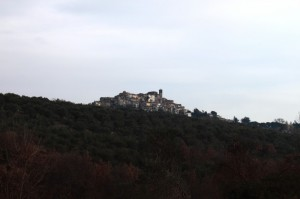 Scandriglia, panorama