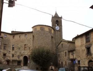 Torrione del castello Cesarini Sforza