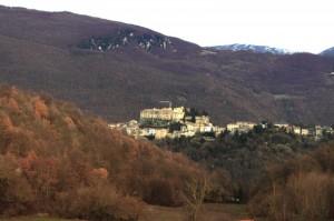 Rocca Sinibalda panorama