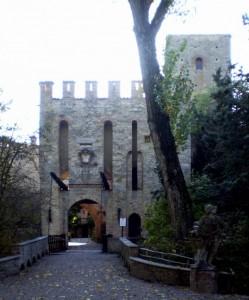 L'Ingresso al Castello di Gropparello