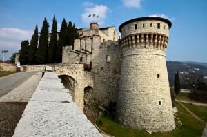 L'ingresso del Castello di Brescia