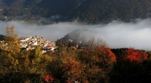 civitella alfedena in veste autunnale