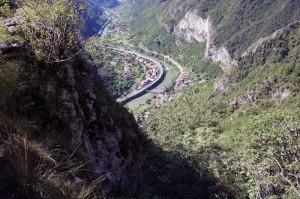 San Marino dall'alto